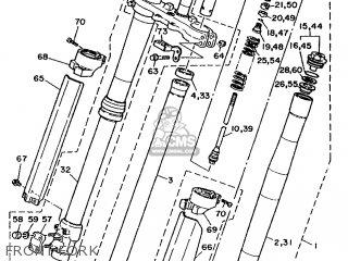 Yamaha YZ125LC 1990 3SR1 EUROPE 203SR-100E1 parts lists