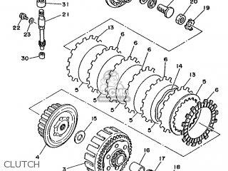 Yamaha YZ125LC 1990 3SR4 OCEANIA 203SR-100E1 parts lists