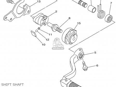 Yamaha Yz125p 2002 parts list partsmanual partsfiche