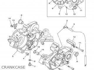 Yamaha YZ125R 2003 5UN1 CANADA 1B5UN-100E1 parts lists and