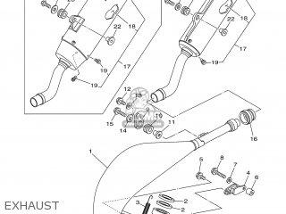 Yamaha YZ125V 2006 1C35 USA 1E1C3-100E1 parts lists and