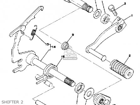 Yamaha YZ125X 1976 USA parts lists and schematics