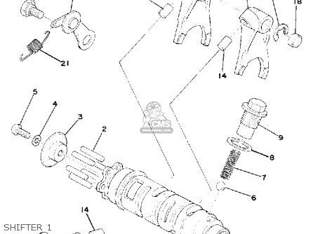Yamaha Yz175 1976 Usa parts list partsmanual partsfiche