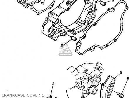 Yamaha YZ250-1 1990 (L) USA parts lists and schematics