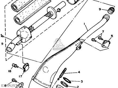 Yamaha Yz250-1 1990 (l) Usa parts list partsmanual partsfiche