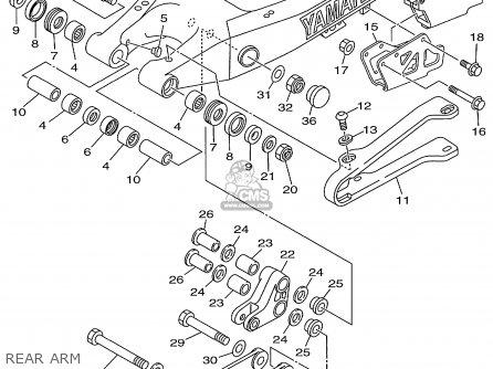 Yamaha Yz250-1 Competition 1999 (x) Usa parts list