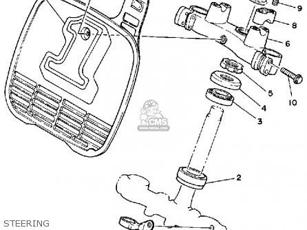 Yamaha Yz250 1985 (f) Usa parts list partsmanual partsfiche