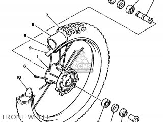 Yamaha YZ250 1988 2VM EUROPE 282VM-300E2 parts lists and