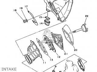 Yamaha Yz250 1988 2vm Europe 282vm-300e2 parts list