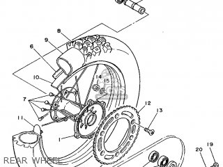 Yamaha YZ250 1988 2VM EUROPE 282VM-300E2 parts lists and