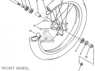 Yamaha YZ250 1996 4SR3 JAPAN 264SR-100E2 parts lists and