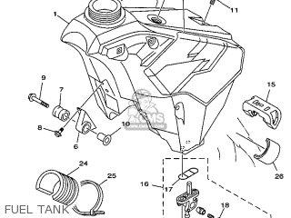 Yamaha YZ250 1999 5CU2 GERMANY 295CU-100E3 parts lists and