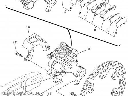 Yamaha YZ250 2002 (2) USA parts lists and schematics