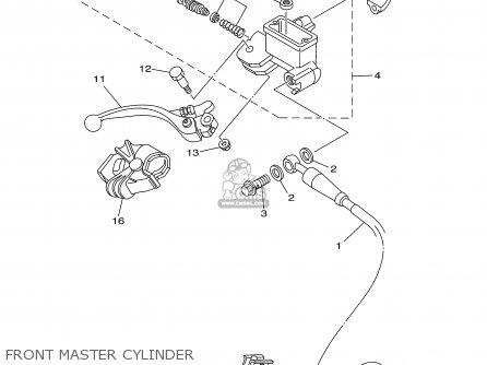 Yamaha YZ250 2003 (3) 50STATES USA parts lists and schematics