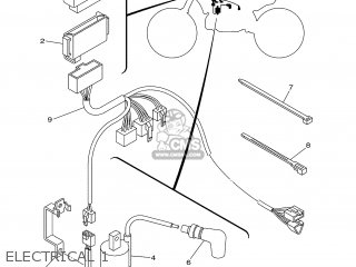 Yamaha YZ250 2005 1P82 EUROPE 1D1P8-100E2 parts lists and