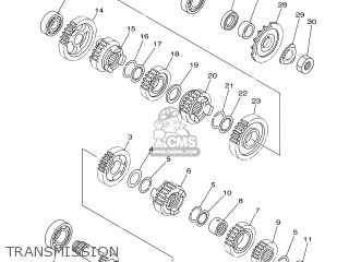 Yamaha YZ250 2006 1P86 EUROPE 1E1P8-100E1 parts lists and