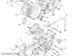 Yamaha YZ250 2007 1P8A EUROPE 1F1P8-100E1 parts lists and