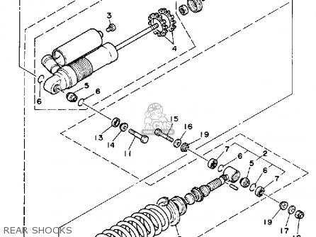 Yamaha Yz250 Competition 1988 (j) Usa parts list