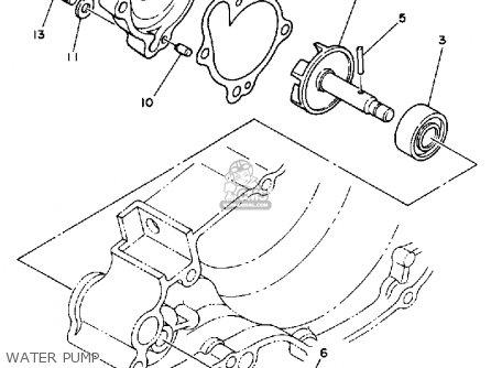 Yamaha Yz250 Competition 1989 (k) Usa parts list