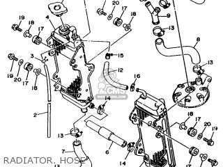 Yamaha YZ250E 1993 4EW2 OTHER 234EW-100E2 parts lists and