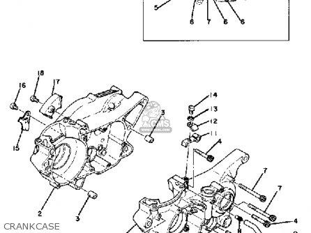 Yamaha Yz250f 1979 parts list partsmanual partsfiche