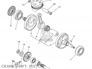 Yamaha YZ250F 2001 5NL2 SWEDEN 115NL-100E3 parts lists and
