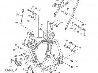Yamaha YZ250F 2002 5SG2 IRELAND 1A5SG-100E2 parts lists