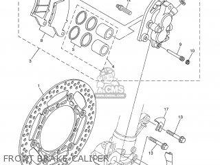 Yamaha YZ250F 2002 5SG3 JAPAN 1A5SG-100E2 parts lists and