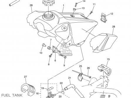 Yamaha Yz250f 2003 (3) Usa parts list partsmanual partsfiche