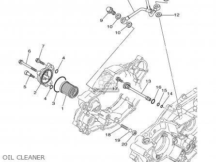 Yamaha YZ250F 2003 (3) USA parts lists and schematics