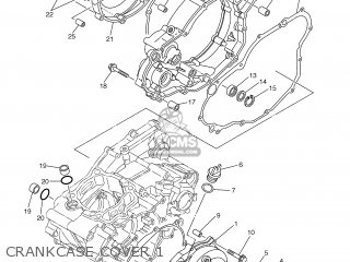 Yamaha YZ250F 2005 5XC6 EUROPE 1D5XC-100E1 parts lists and