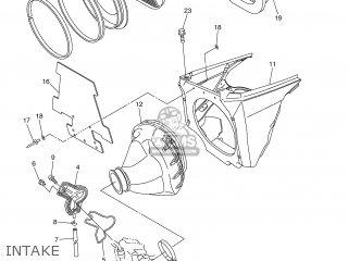 Yamaha YZ250F 2007 5XCJ JAPAN 1F5XC-100E1 parts lists and