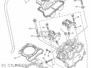 Yamaha YZ250F 2011 17DE EUROPE 1K17D-100E1 parts lists and