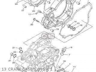 Yamaha YZ250F 2012 17DA EUROPE 1L17D-100E1 parts lists and