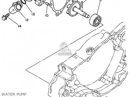 Yamaha Yz250f1 1994 parts list partsmanual partsfiche