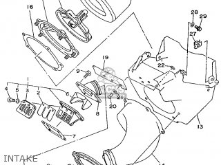 Yamaha YZ250H 1996 4SR2 SOUTH AFRICA 264SR-100E2 parts