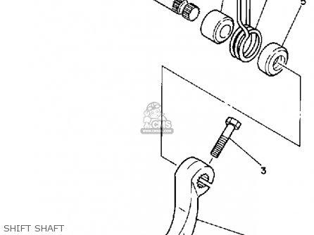 Yamaha Yz250wr 1989 (k) Usa parts list partsmanual partsfiche