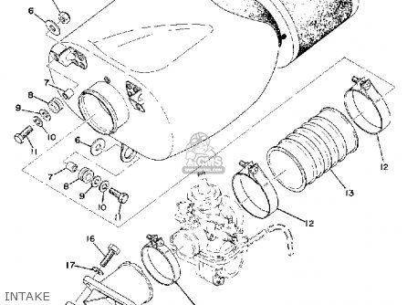 Yamaha YZ360 1974 USA parts lists and schematics