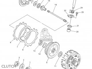 Yamaha Yz426f 2000 5jg2 France 105jg-100e2 parts list