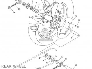 Yamaha Yz426f 2001 5jg6 Sweden 115jg-100e1 parts list