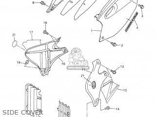 Yamaha YZ426F 2001 5JG7 JAPAN 115JG-100E1 parts lists and