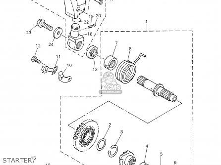 Yamaha Yz426f Competition 2002 (2) Usa parts list