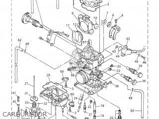 Yamaha Yz426fn 2001 5jg8 Canada 115jg-100e1 parts list