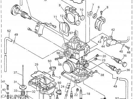 Yamaha Yz426fn 2001 parts list partsmanual partsfiche
