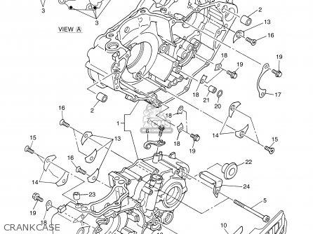 Yamaha YZ450F 2003 (3) 50STATES USA parts lists and schematics