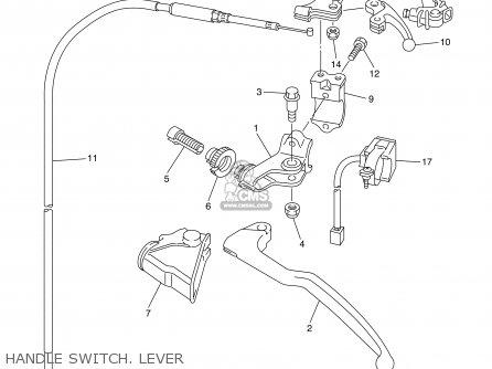 Yamaha Yz450f 2003 (3) 50states Usa parts list partsmanual