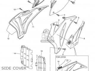 Yamaha YZ450F 2006 2S23 JAPAN 1E2S2-100E1 parts lists and