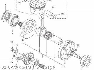 Yamaha YZ450F 2010 33D2 EUROPE 1J33D-100E1 parts lists and