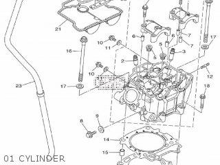 Yamaha YZ450F 2012 33DA EUROPE 1L33D-100E1 parts lists and