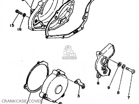 1980 Yamaha Yz250 Wiring Diagram 1980 Yamaha XS750 Wiring